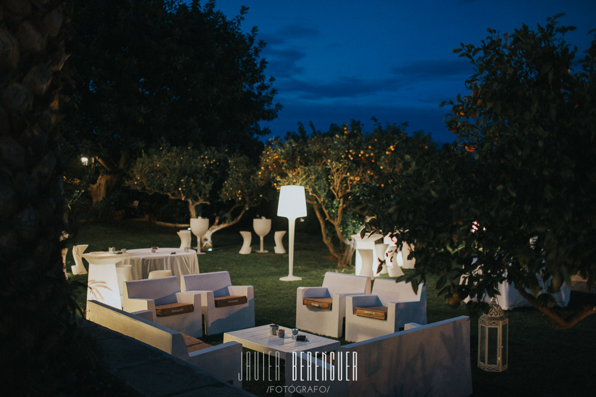 Chill Out para Bodas en Alicante