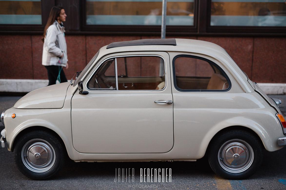 Fiat 500 Italy Rome