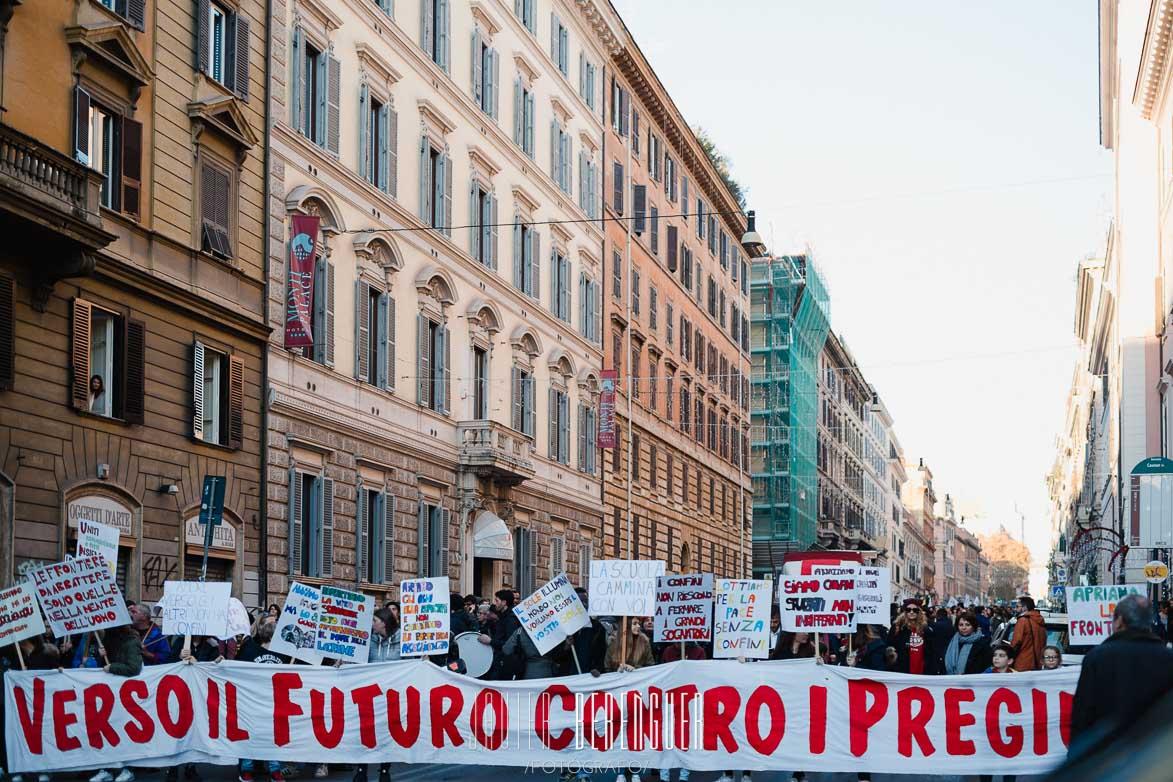Fotos urbanas manifestación
