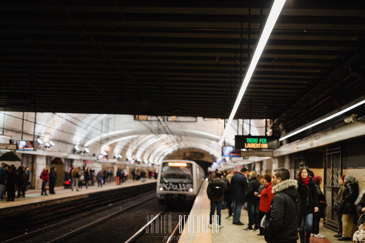 Street Photos Metro Rome