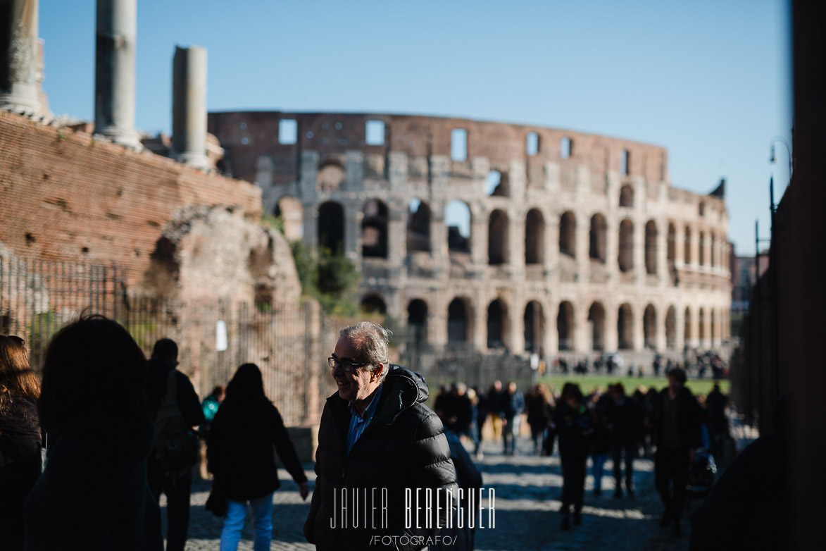 street photo coliseo romano