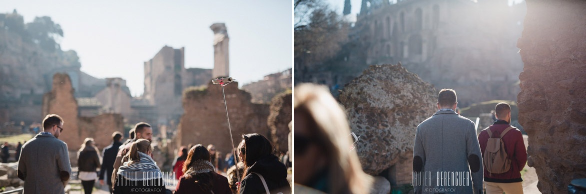 Wedding Photography in Roman Forum