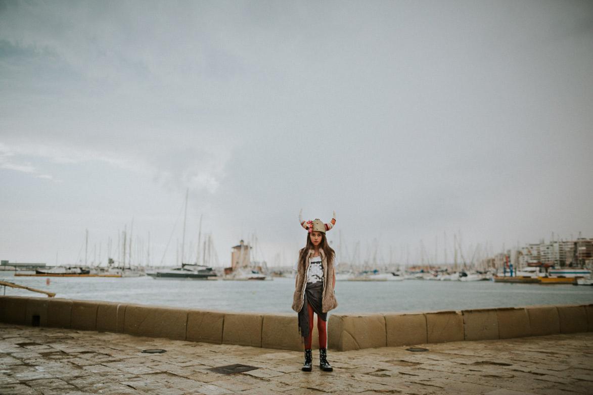 Fotos de Comunión Vestida de Vikingo en las Eras de La Sal Torrevieja