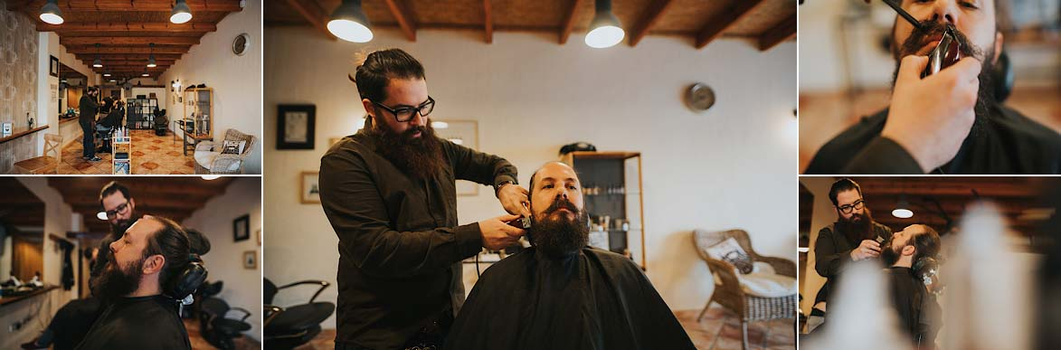 Fotos de Boda Barber Shop Oh Lord