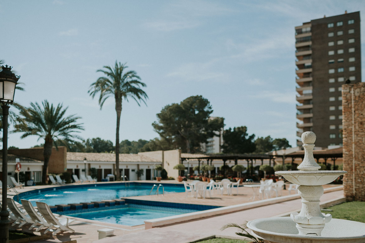 Piscina Hotel Montepiedra Clara de Campoamor