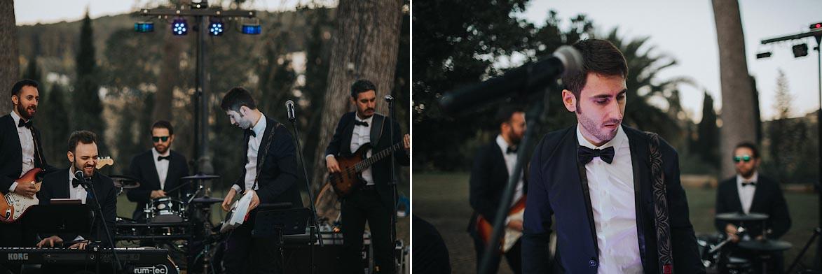 Fotos en Bodas brit band alicante
