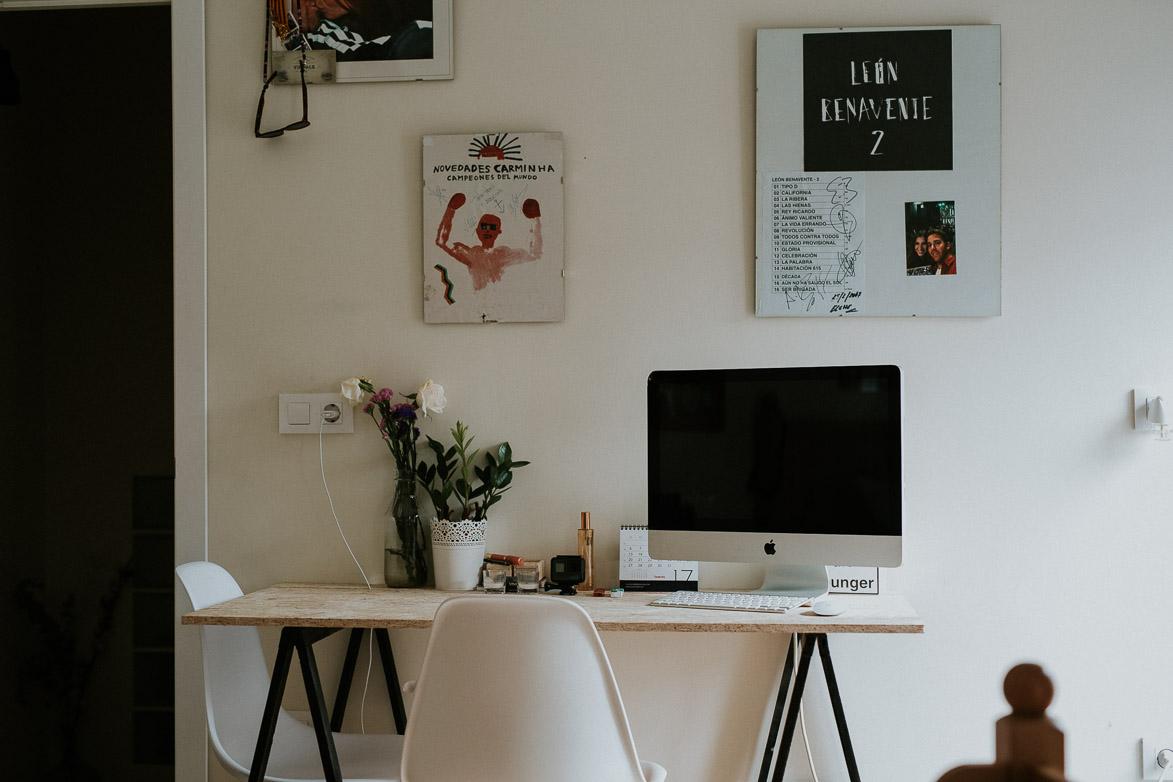 Habitación con iMac