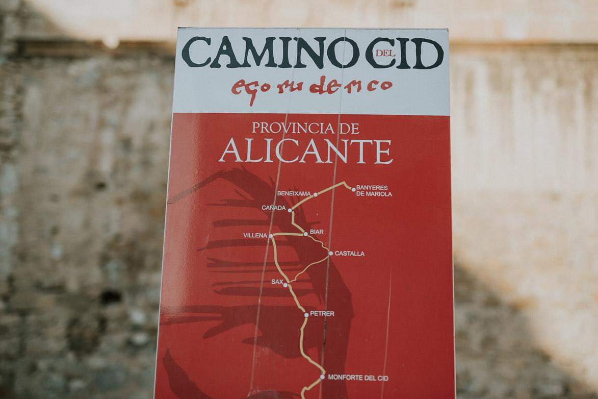 Camino del Cid Orihuela