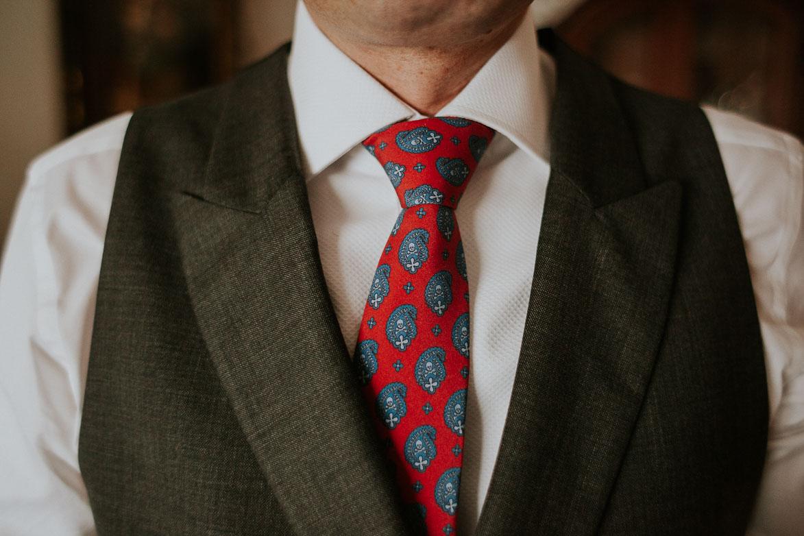 Corbata de Calaveras para boda