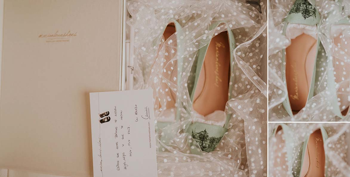 Zapatos personalizados para Boda Marian Love Shoes