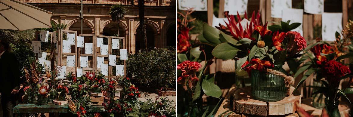 Decoración Floral para Bodas La Trastienda Floristería