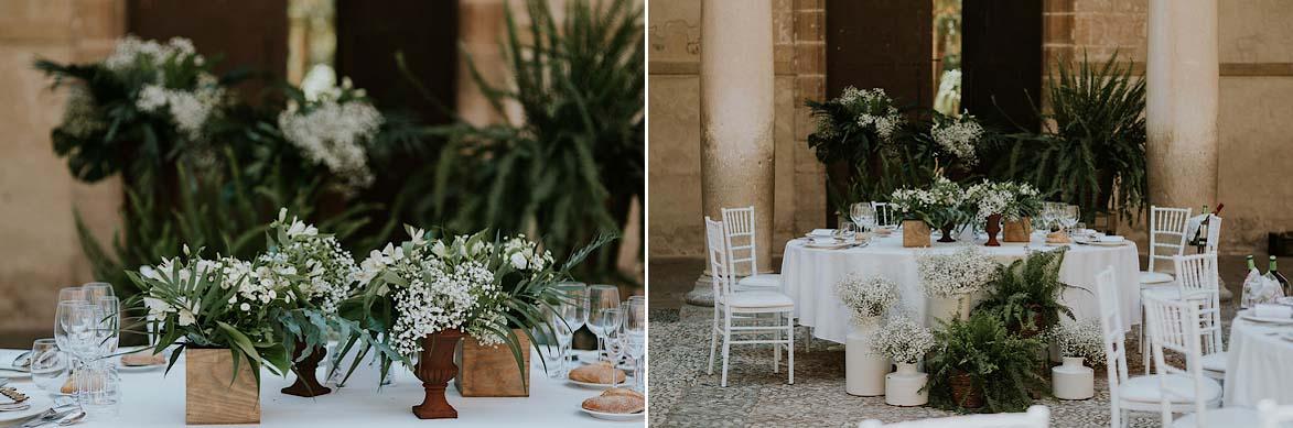 Mesa Presidencial Floral para Bodas La Trastienda Floristería