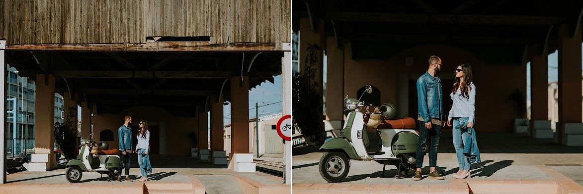 Fotógrafos Pre Boda en Estación de Tren Alicante