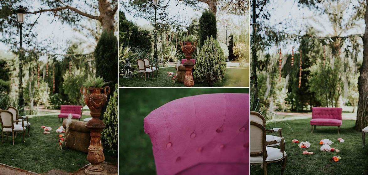 Fotos de Boda Boho Romantica en Finca Maria Ana Elche