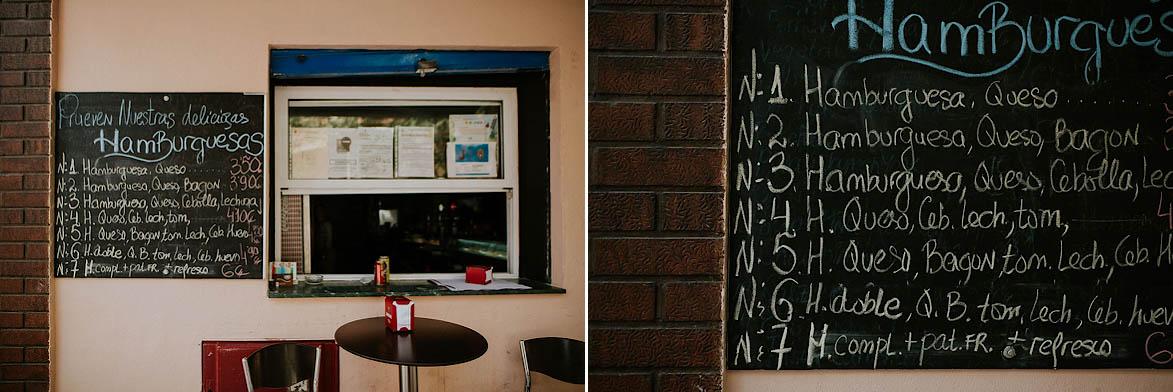Menu Bar Alicante