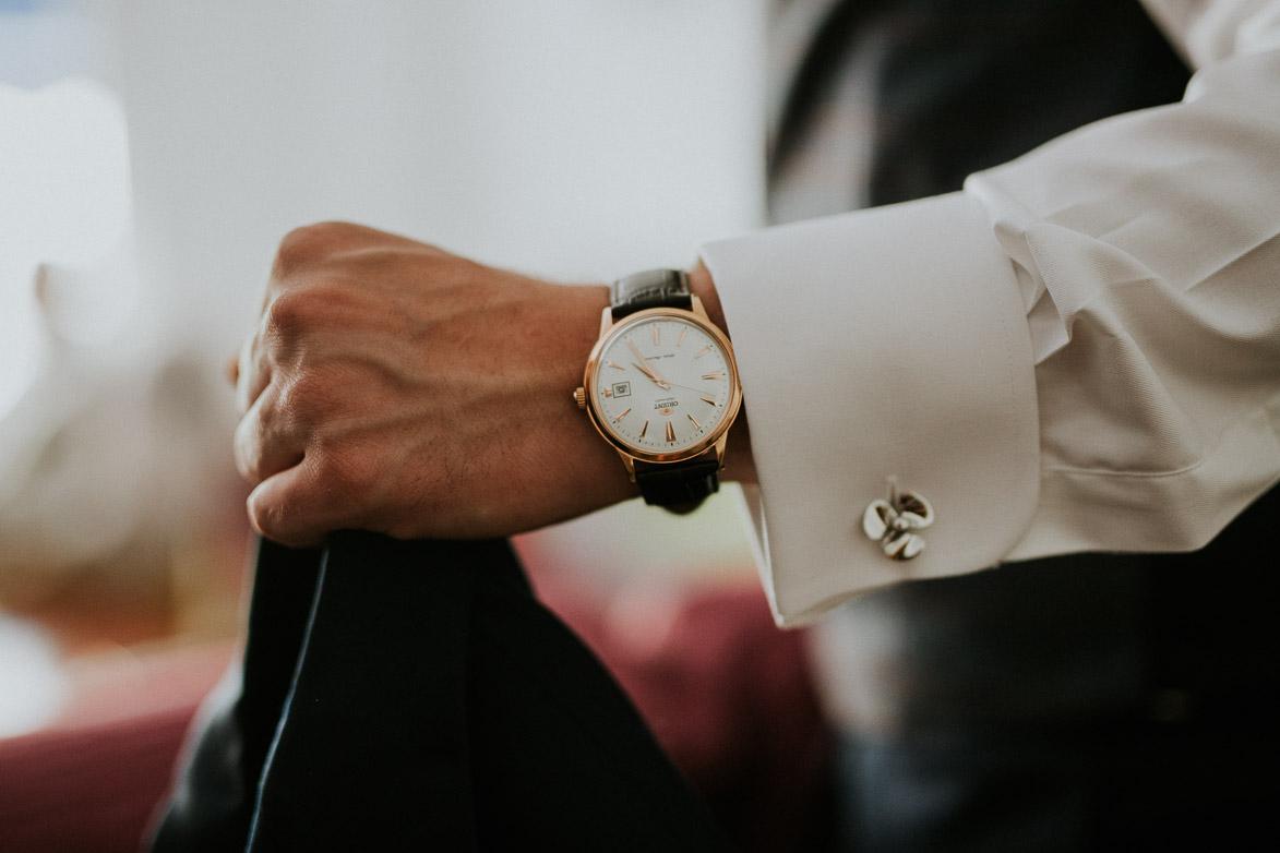 Reloj y detalles de Boda