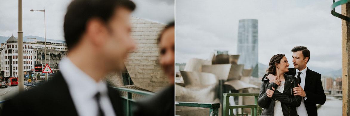Fotos y video de boda en Guggenheim Bilbao
