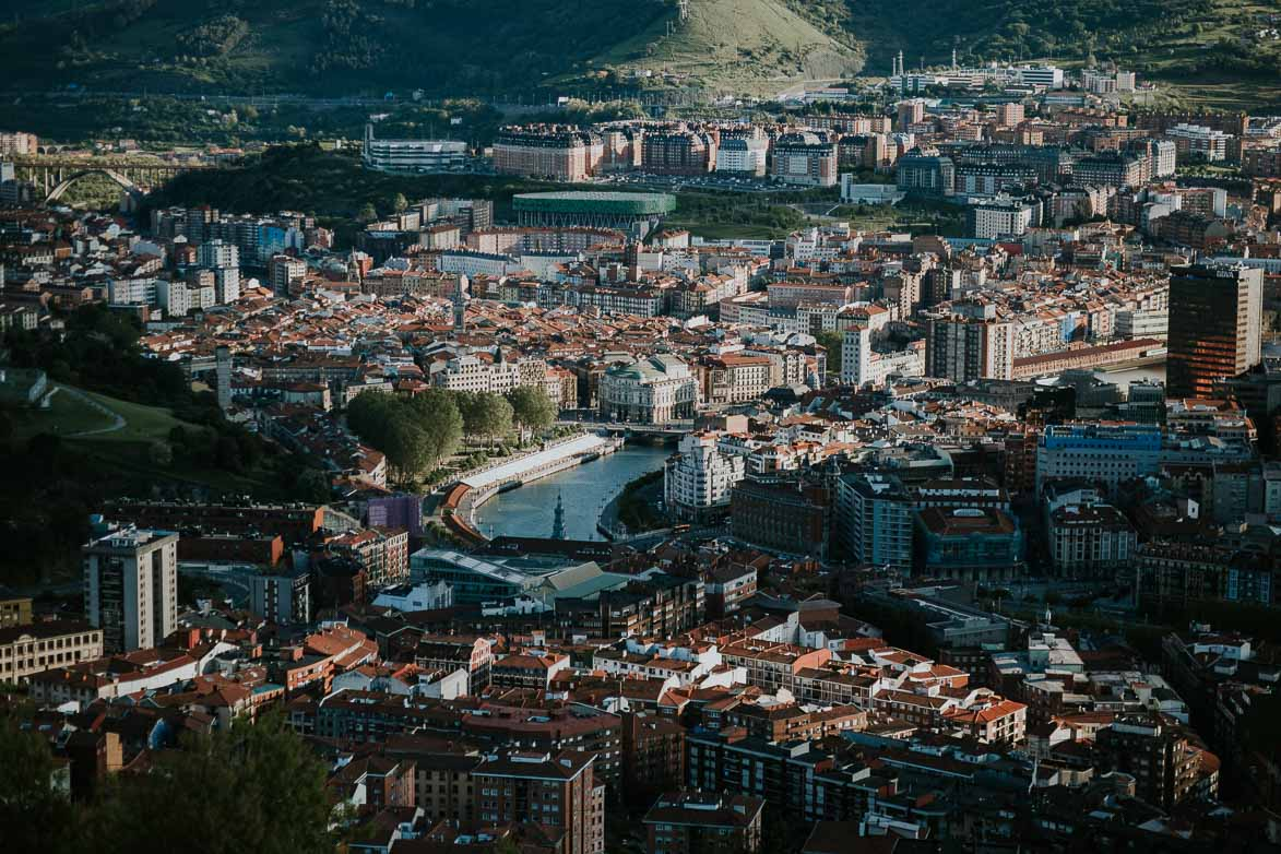 Skyline Bilbao fotógrafos boda bilbao