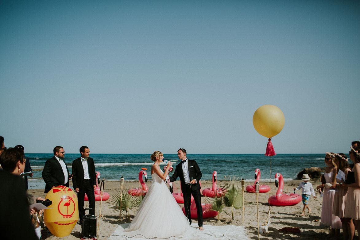 Mariage sur la plage Cabo Roig Torrevieja