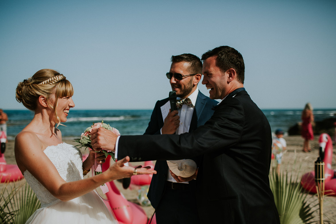 Mariage sur la plage Espagne Wedding on the beach Spain