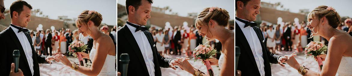 Mariage sur la plage Espagne