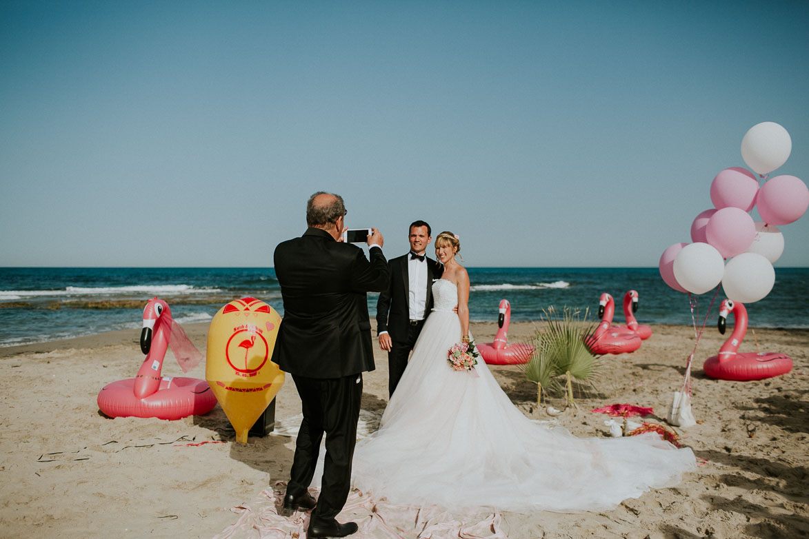 Wedding on the beach in Orihuela Costa