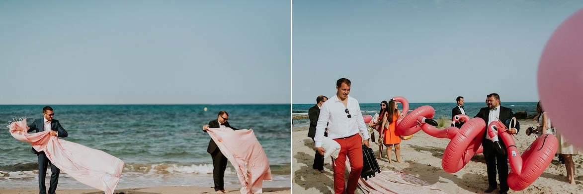 Wedding on the beach in Orihuela Costa