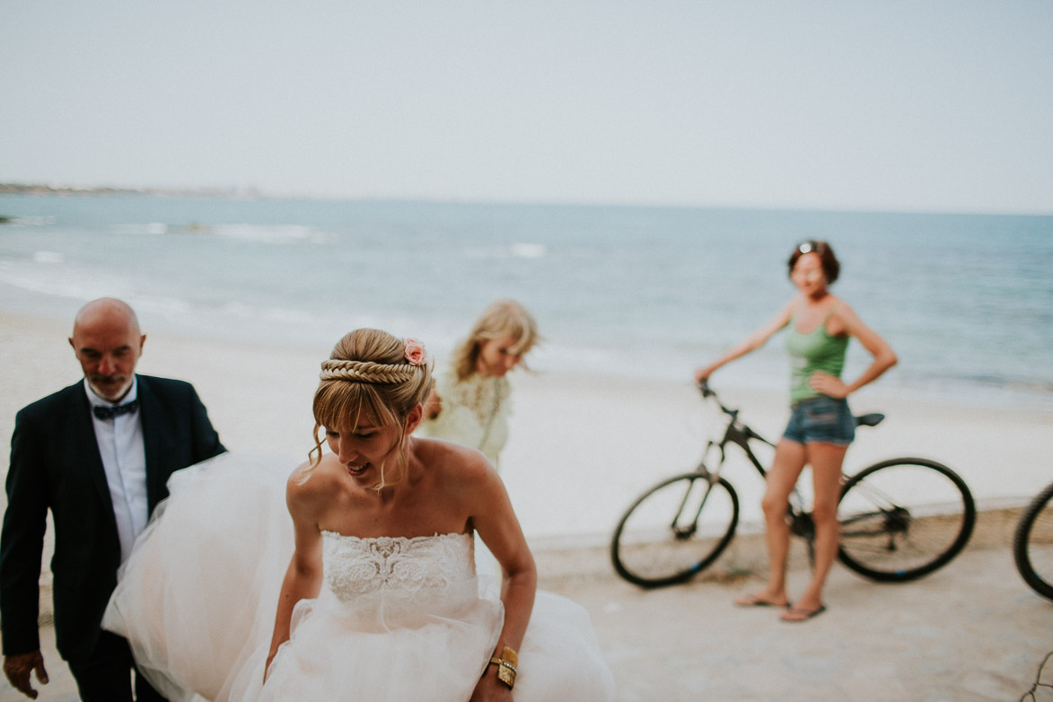 Wedding on the beach in Orihuela Coast