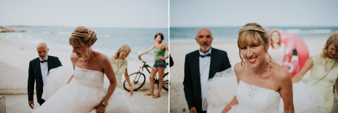Wedding on the beach in Orihuela Coast