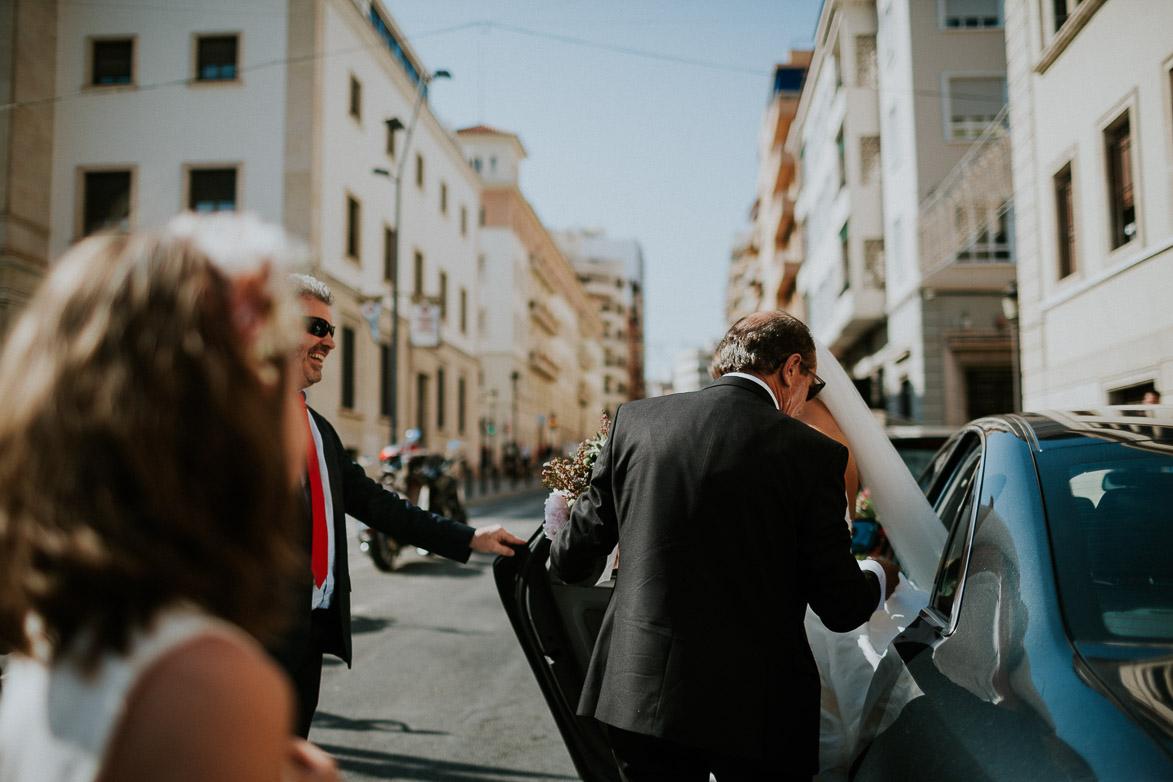 Fotos de Boda en Nuestra Señora de Gracia Alicante