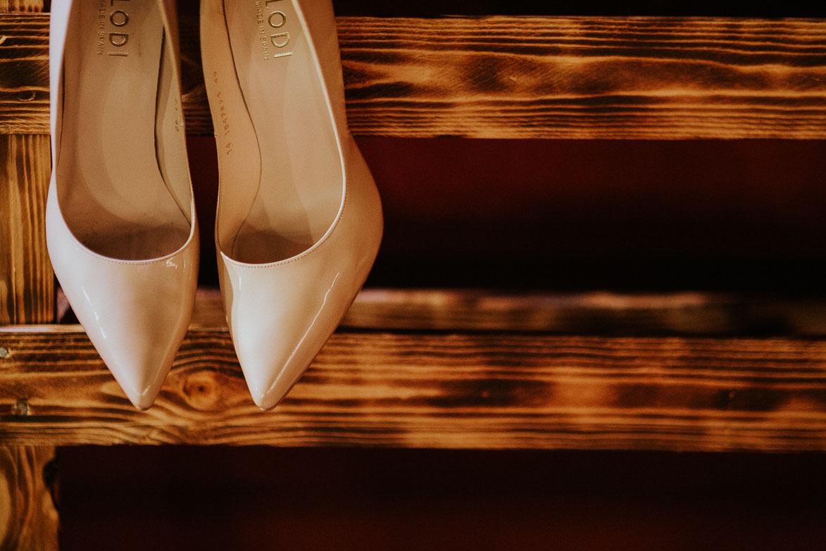 Rincon para Zapatos Lodi en Bodas