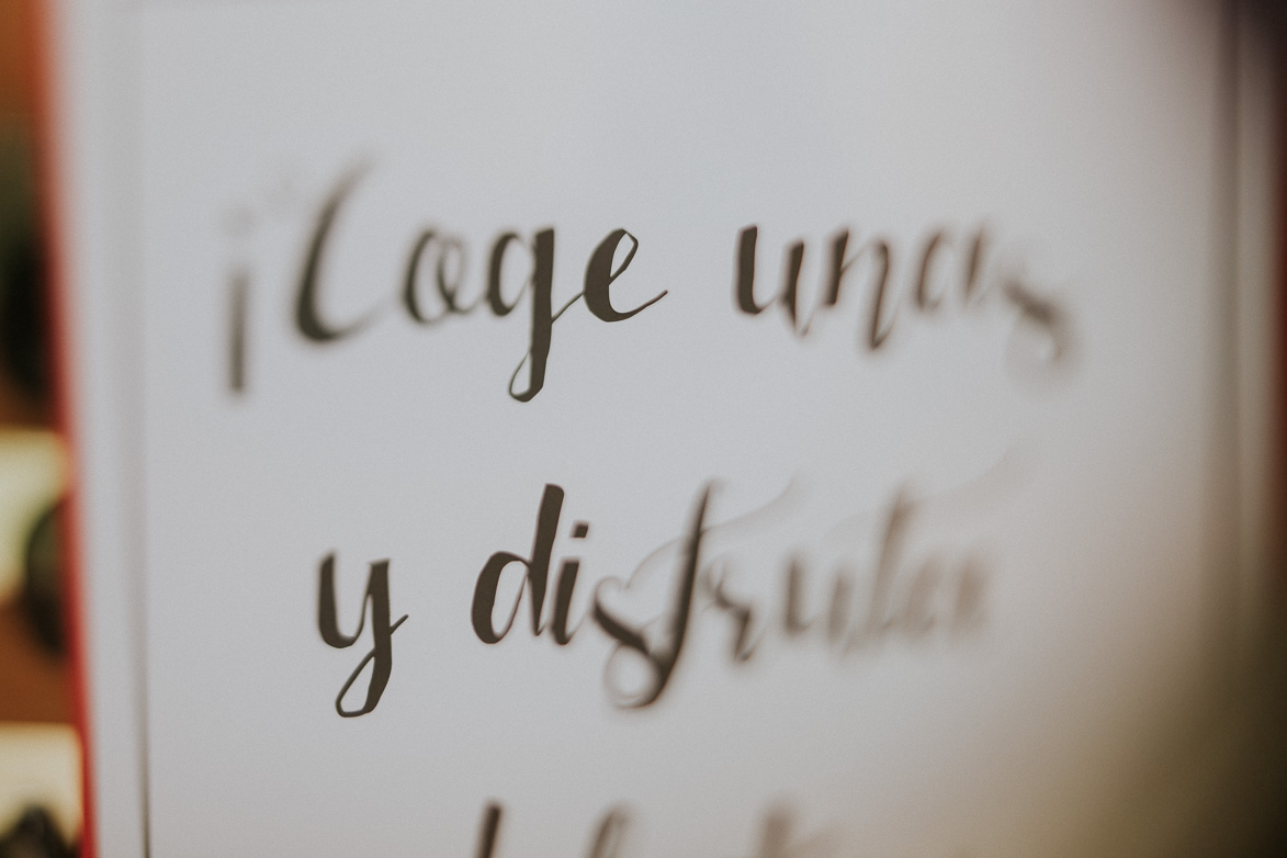 Lettering para bodas