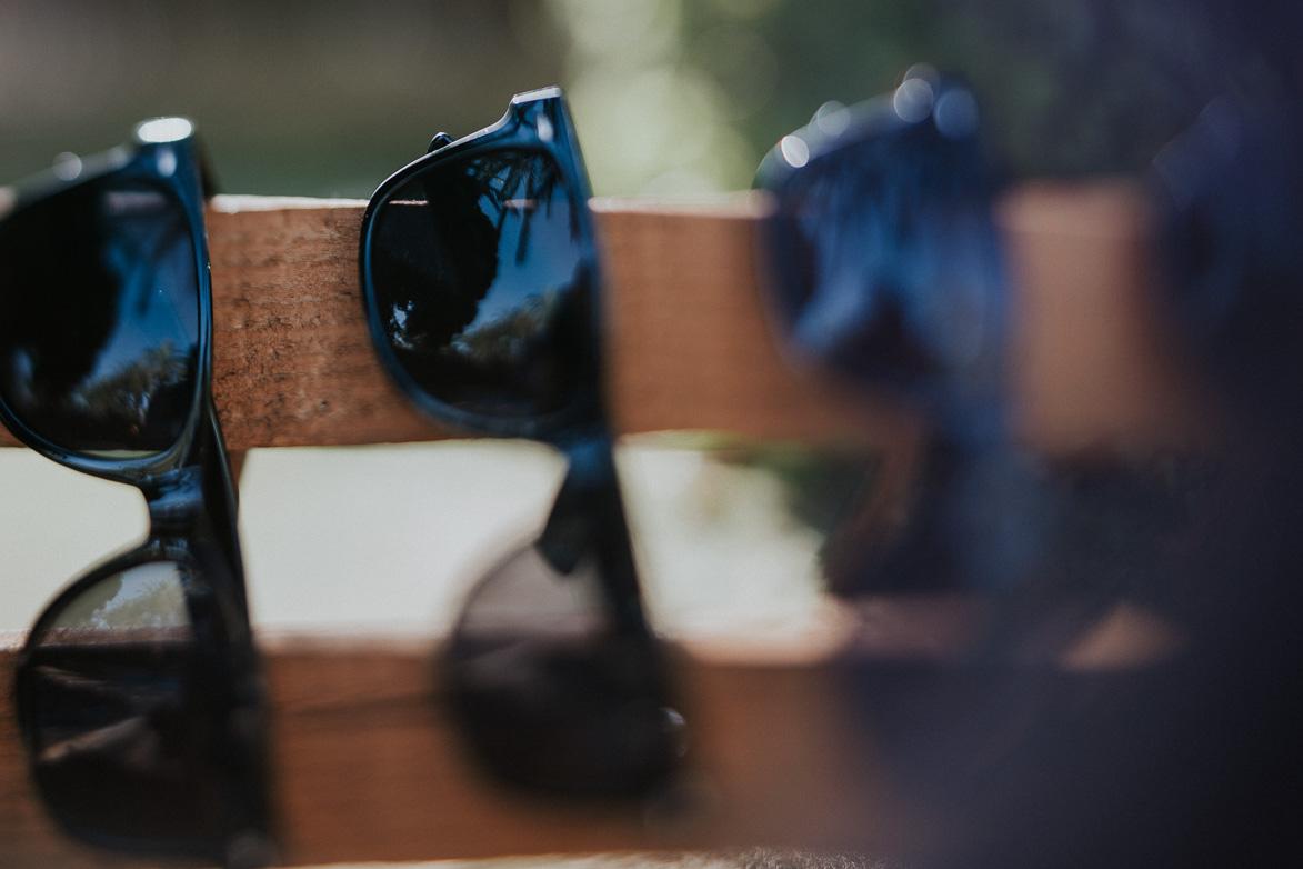 Gafas de sol Negras para Bodas