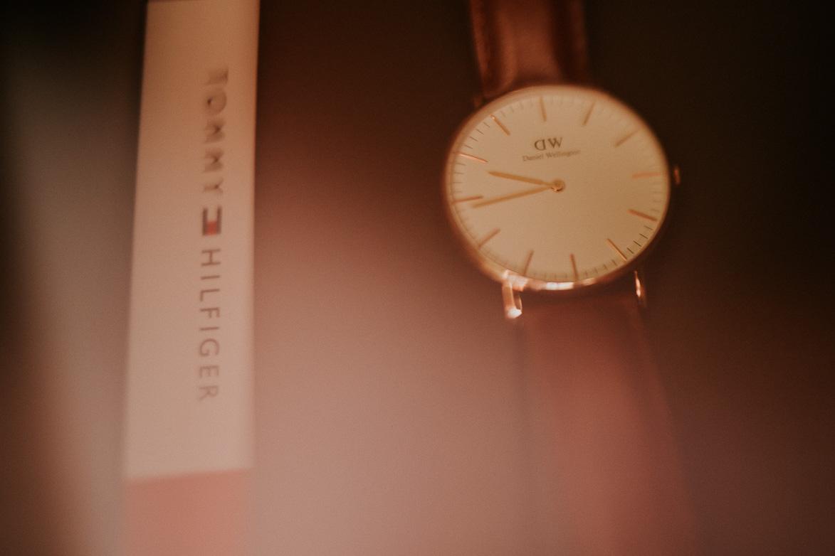 Reloj para Boda Daniel Wellinton