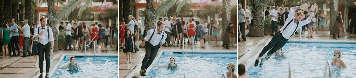 Fotos y video de boda en Piscinas