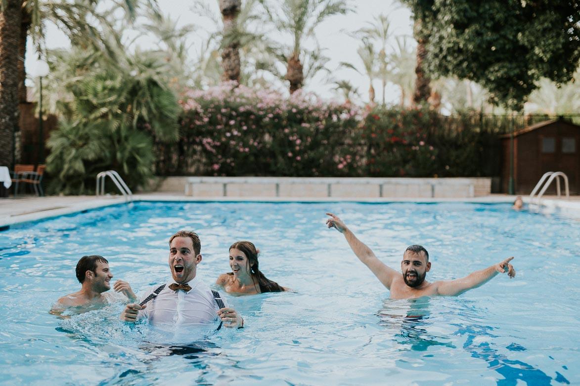 Fotos y video de bodas en Piscinas