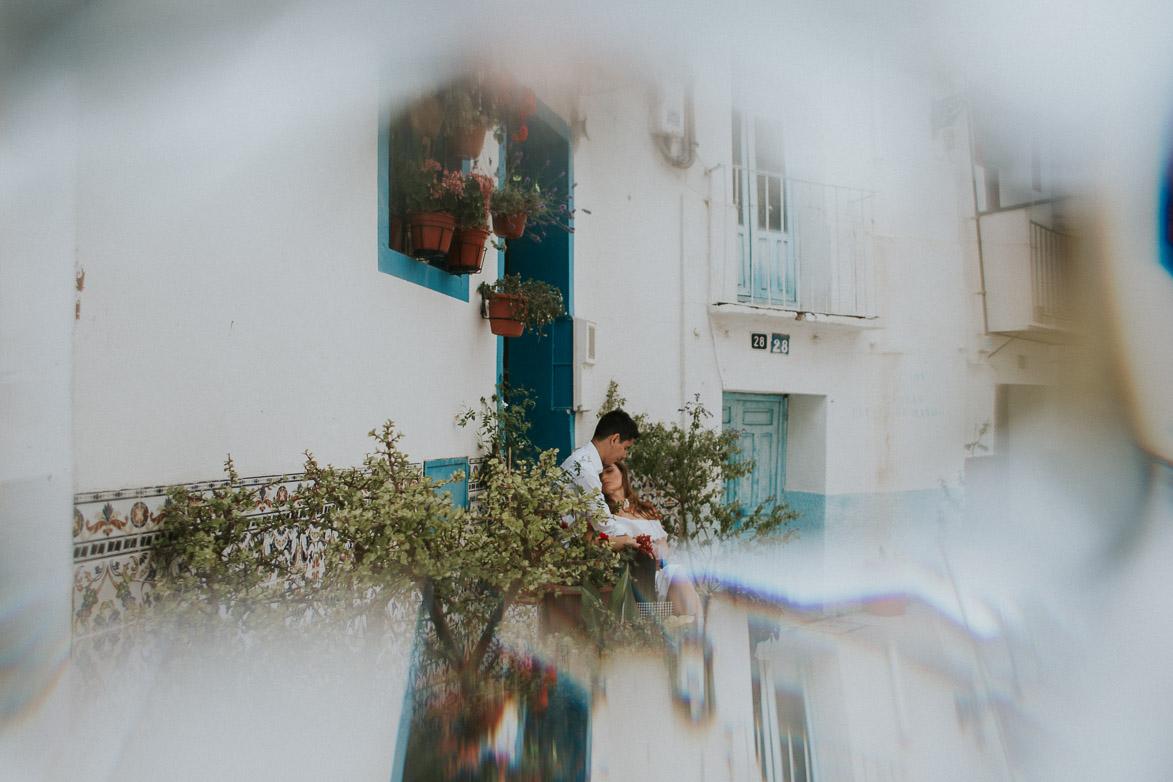 Fotos de Pre Boda Barrio Santa Cruz Alicante