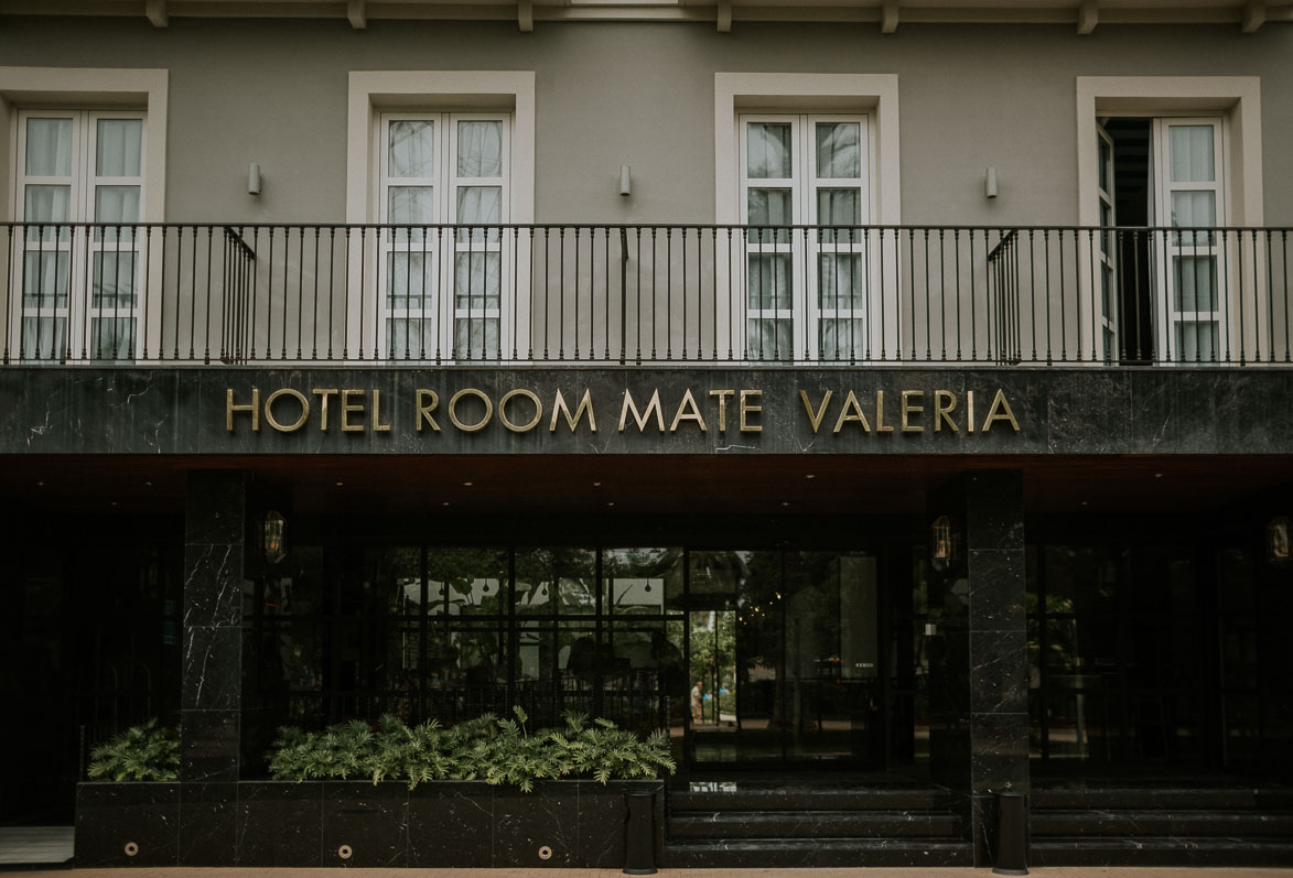 Fotografos de Boda Hotel Room Mate Valeria Malaga