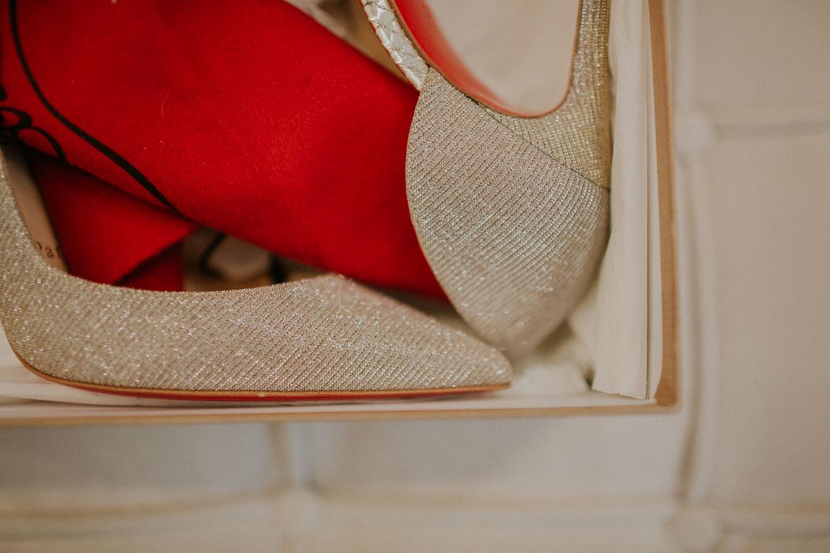 Zapatos Novia christian louboutin