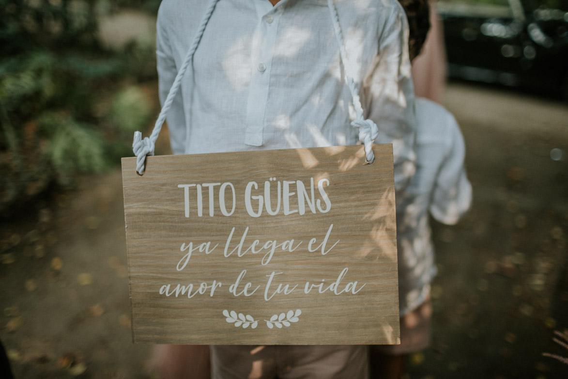 Carteles para Bodas Tito Güens