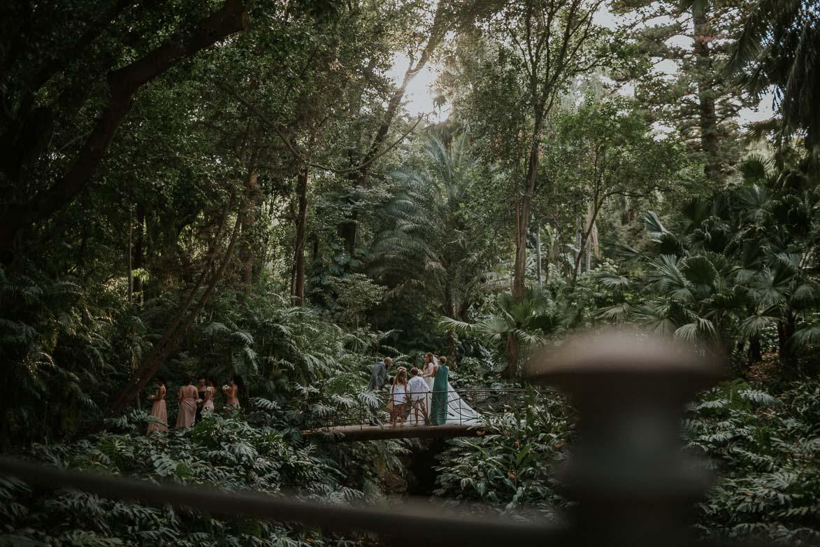 Fotografos Bodas Jardín Botánico La Concepción Malaga