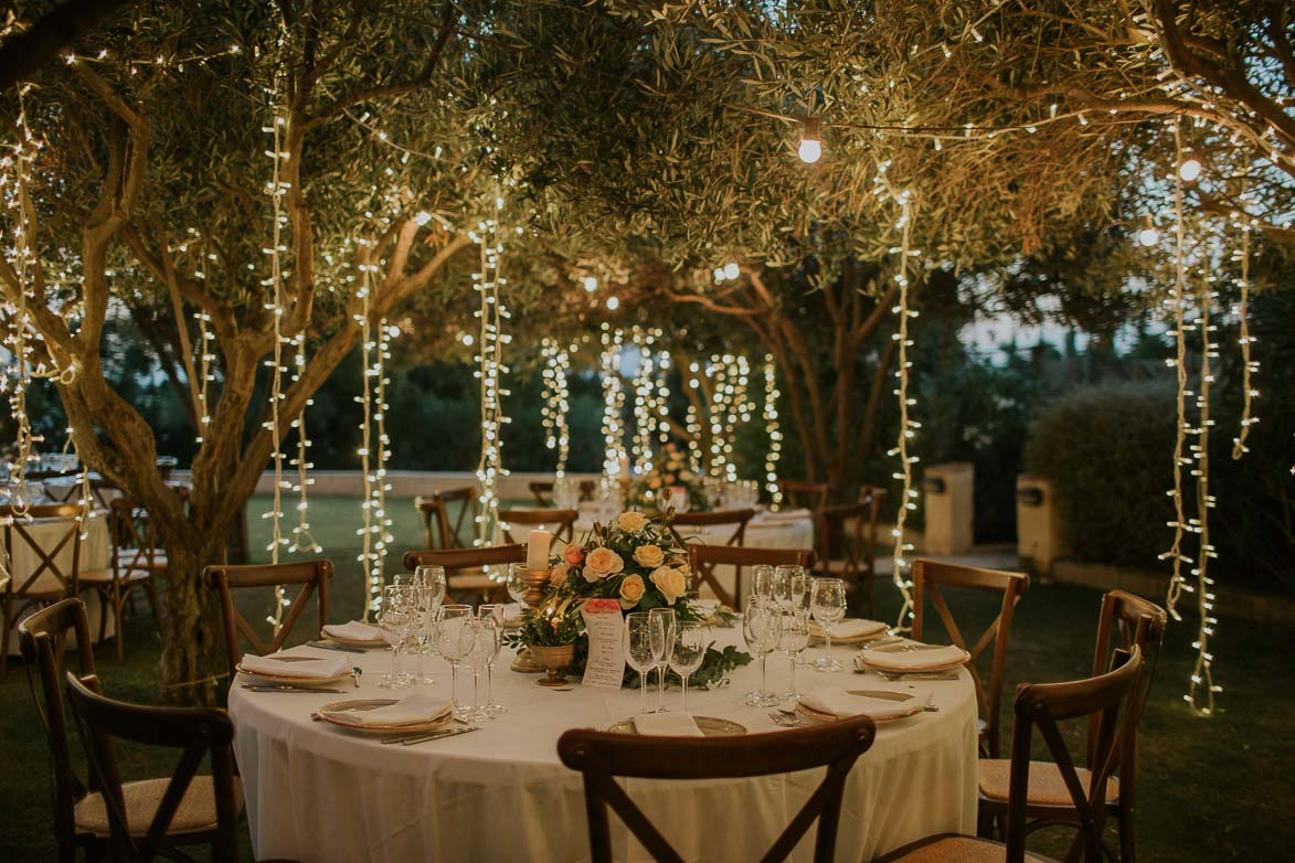 Decoración con luces de led en Bodas