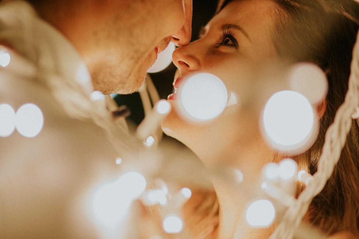 Fotos de Novios y bodas con Luces