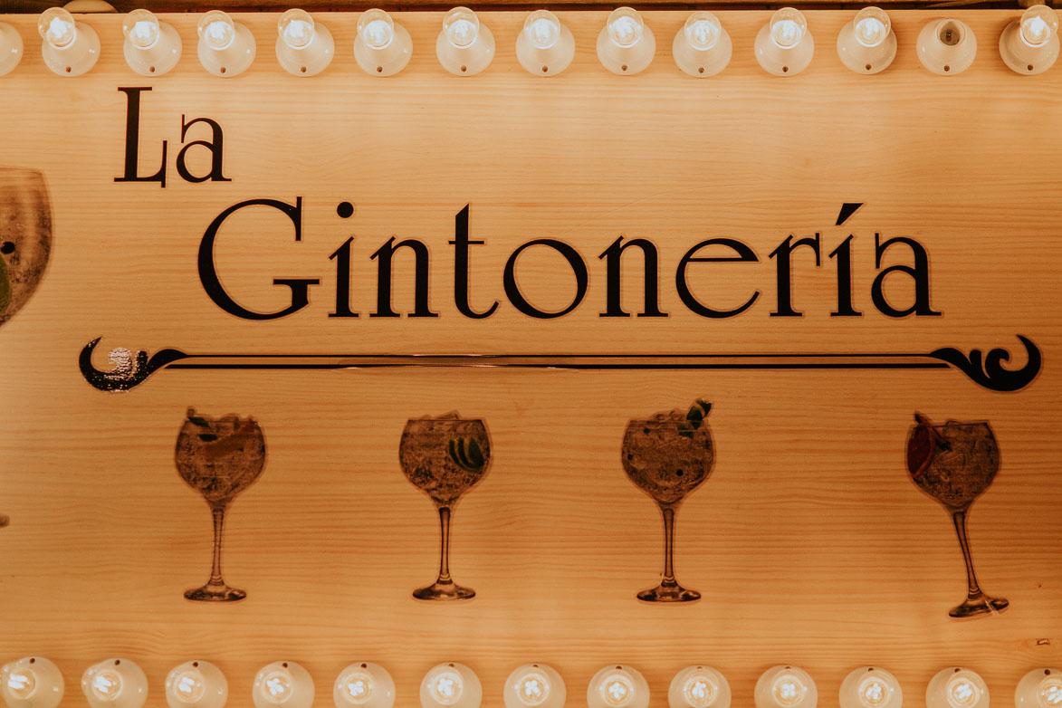 Rincon de Gintoneria Premium en Bodas