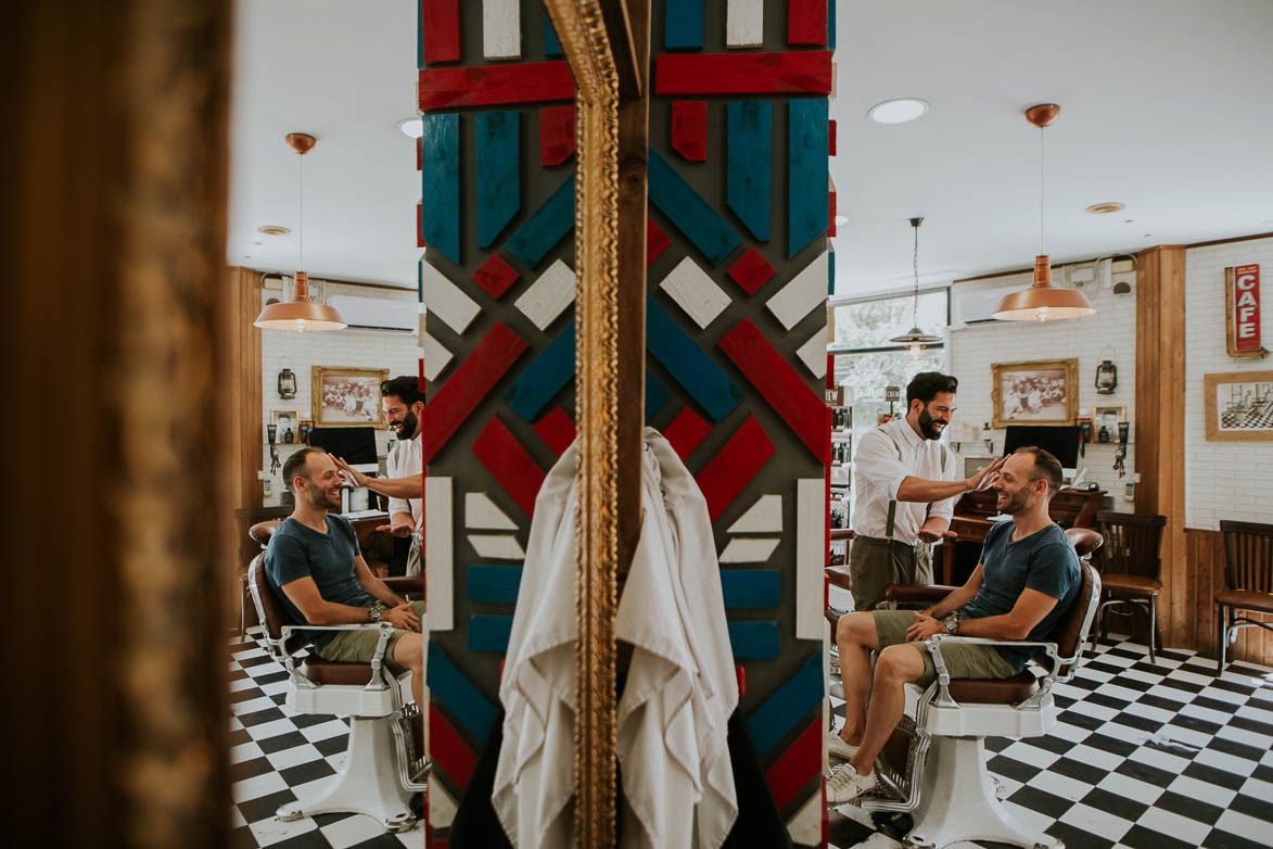 Fotos de Bodas en Barbería Los Honorables Valencia