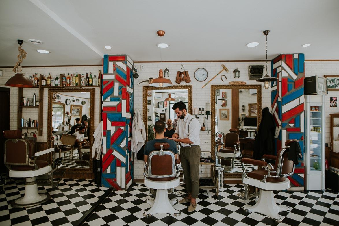 Fotos de Bodas en Barbería Los Honorables Valencia