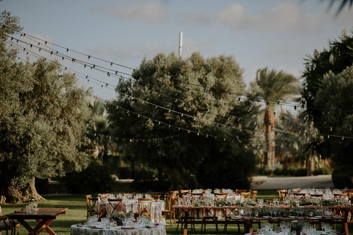 Decoración de espacios para bodas en fincas