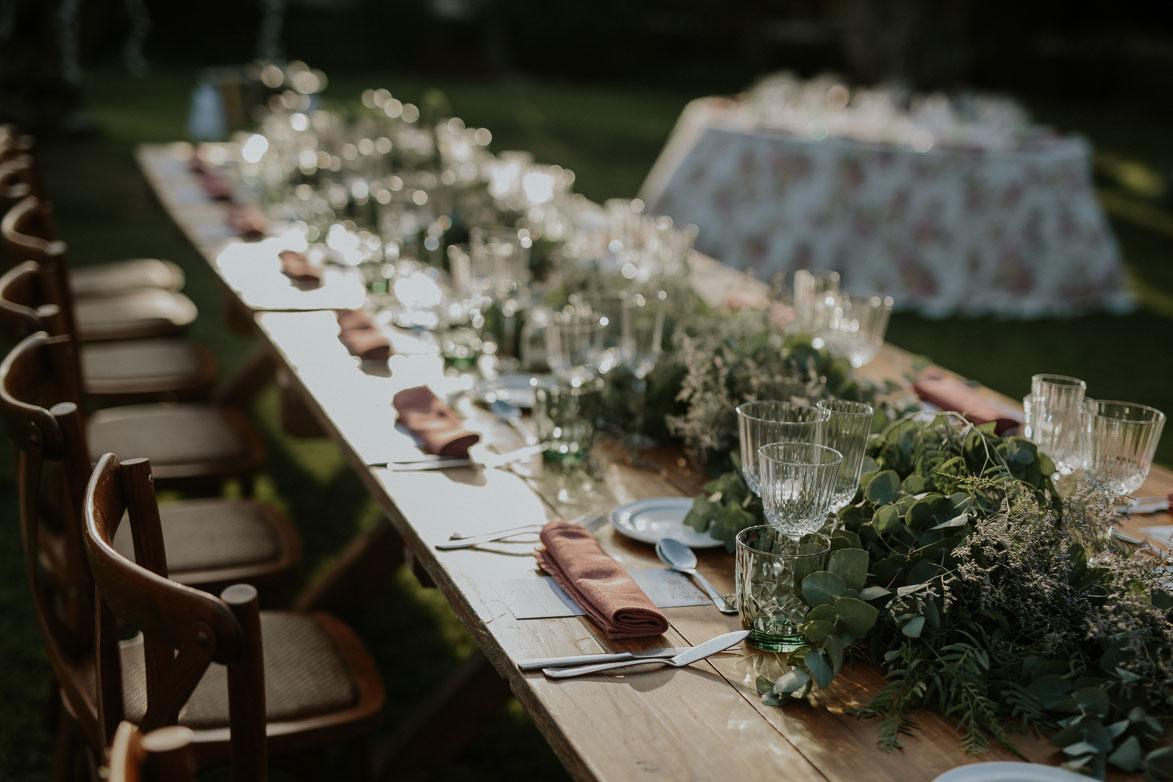 Detalles para decoracion de mesas en bodas