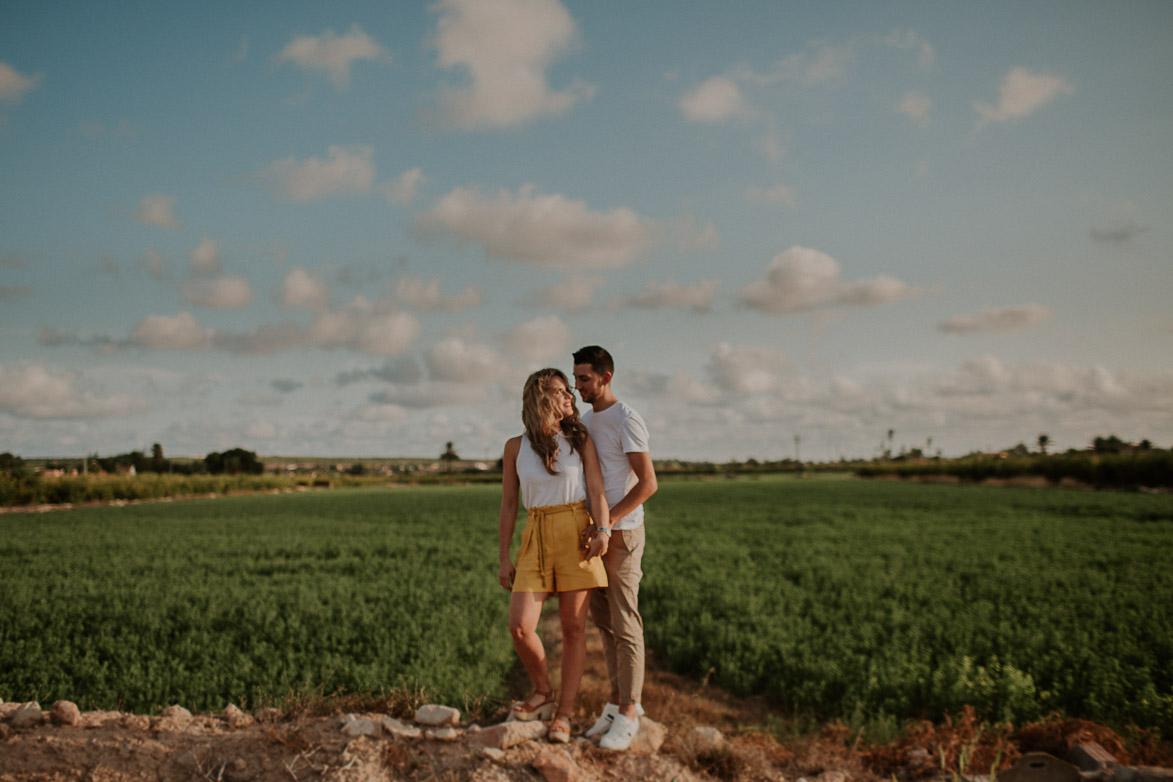 Fotografos Pre Boda Campo Elche Alicante Murcia