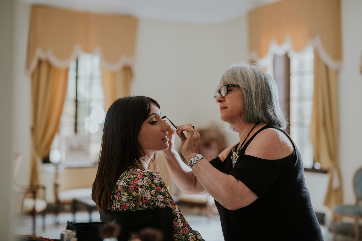 Toñi Lillo Make Up en Jardines de Abril